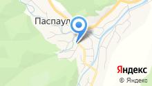 Паспаульская средняя общеобразовательная школа на карте