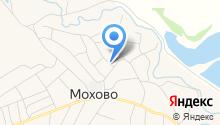 Продуктовый магазин на ул. Гагарина на карте