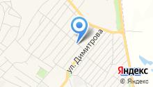 Продуктовый магазин на ул. Артёма на карте