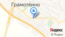 Продуктовый магазин на ул. Ворошилова на карте