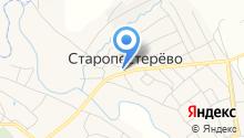Старопестерёвская центральная детская библиотека на карте