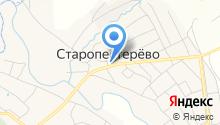 Администрация Старопестерёвского сельского поселения на карте