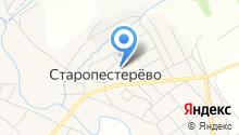 Старопестерёвский детский сад общеразвивающего вида на карте
