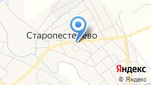 Старопестерёвский сельский дом культуры на карте