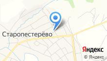 Продуктовый магазин на Трудовой на карте