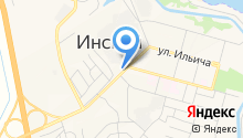 Шиномонтажная мастерская на ул. Ильича на карте