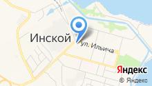 Магазин автотоваров на ул. Ильича на карте