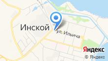 Магазин женского белья на карте