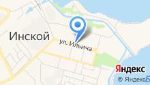 Продуктовый магазин на ул. Ильича на карте