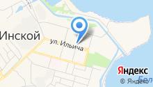 Территориальное управление п.г.т. Инской Администрации Беловского городского округа на карте