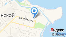 Детский сад №18, Хрусталик на карте