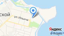 Бассейн на карте