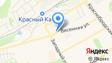 Терминал оплаты на карте
