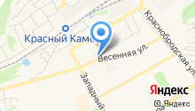 Киселёвская транспортная компания на карте