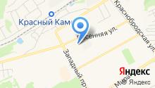 Кузбасс-Окно на карте