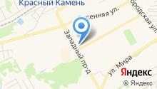 Центр развития творчества детей и юношества г. Киселёвска на карте