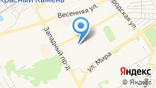 Мировые судьи г. Киселёвска на карте