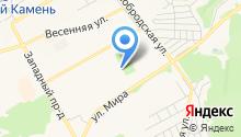 Отдел полиции Красный камень на карте