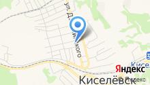 Киселёвская типография на карте