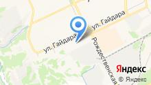 Кузнечный двор на карте