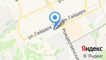 АКМО на карте