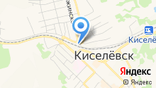 На Томском на карте