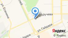 Губернская на карте