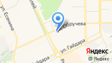 Исток на карте