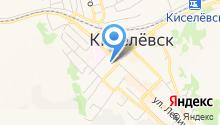 Управление образования Киселёвского городского округа на карте