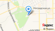 Прокопьевский межрайонный отдел Управления Федеральной службы по контролю за оборотом наркотиков РФ по Кемеровской области на карте