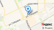 Березовый на карте