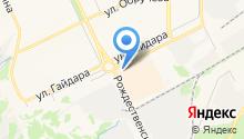 Генстрой на карте