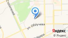 Гайса на карте