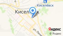 Комитет по спорту и молодежной политике Киселёвского городского округа на карте