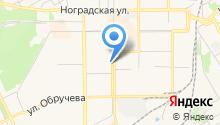 Расчетно-кассовый центр Рудничного района г. Прокопьевска на карте