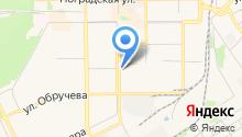 Клевер на карте