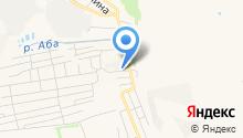 Аква на карте