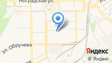 Прокопьевская автошкола ДОСААФ на карте