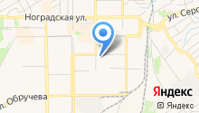 Городская баня №2 на карте