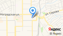 Отдел полиции Рудничный, Отдел МВД России по г. Прокопьевску на карте