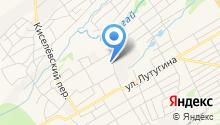 Кирпичный завод на карте