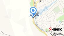 Автомойка на Шоссейной на карте