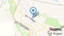 Магазин упаковочных материалов на карте