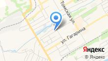 Шиномонтажная мастерская на ул. Багартиона на карте