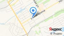 Магазин разливного пива на ул. Гагарина на карте