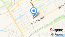 Регистрационно-экзаменационный отдел ГИБДД ОВД по г. Киселёвску на карте