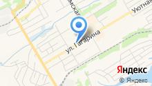 Уголёк на карте