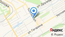 СТО на Томской на карте