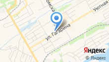Приход церкви преподобного Сергия Радонежского на карте