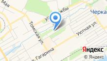 У Дмитрича на карте